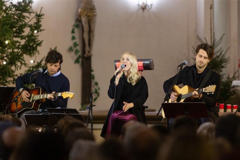 GALERII | Saara Pius, Stig Rästa ja Victor Crone annavad jõulukontserte