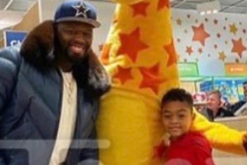 50 Cent lasi lelupoe sulgeda, et tema poeg saaks endale kinke valida