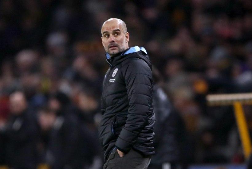 Manchester City peatreener: tiitlile mõelda on ebareaalne