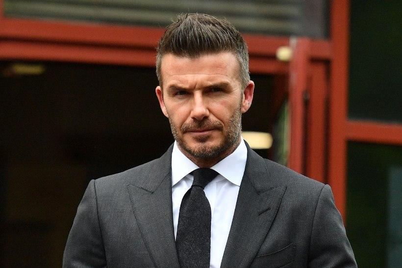 Inglismaa meedia: David Beckham on sattunud suurde kalkuniskandaali