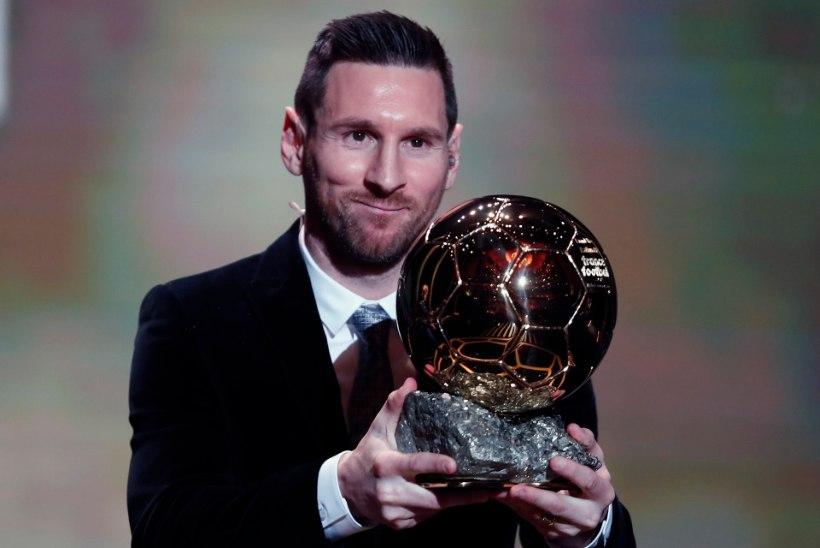 Lionel Messi võitis kuuendat korda Ballon d'Ori