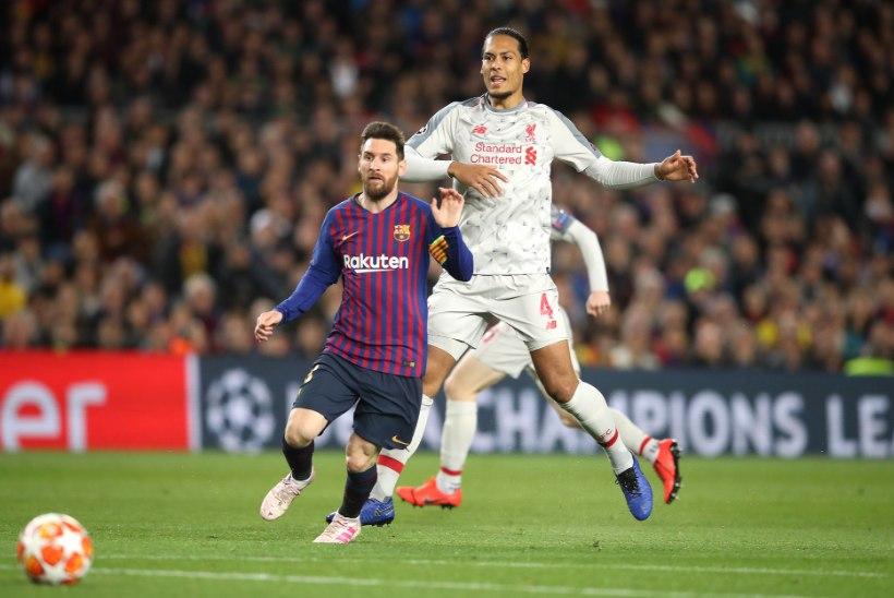 Kaitsjate raske elu: van Dijk on maailma parim, aga Messi on Messi
