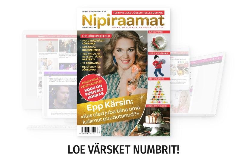DETSEMBRIKUU NIPIRAAMAT | Loe nüüd ajakirja ka veebis!
