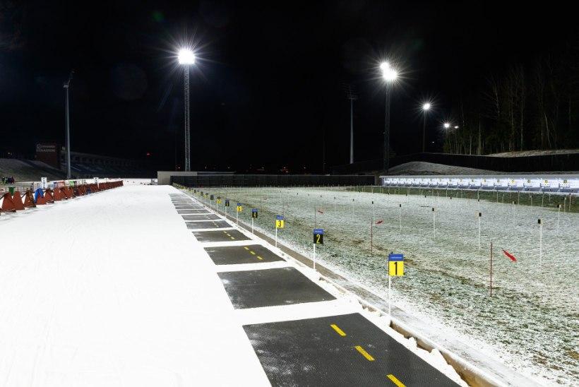 FOTOD | Laskesuusatajad panid proovile uuenduskuuri läbinud Tehvandi staadioni