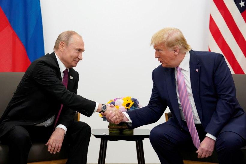 Putin tänas Trumpi luureinfo eest, millega hoiti ära Venemaal toimuma pidanud vägivallaakt