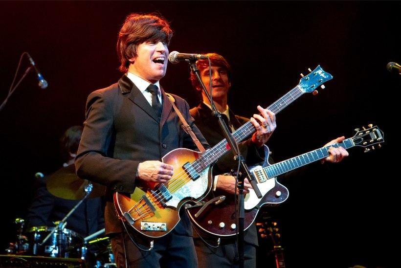 GALERII   The Beatlesi tribüütbänd esines Tallinnas unustamatu sõuga