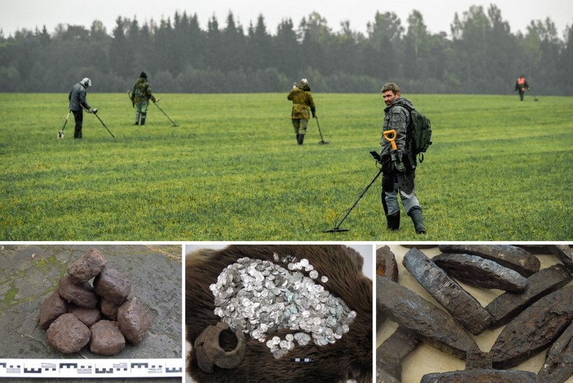 EESTI OLI VIIE RIKKAIMA HULGAS?! Aardeotsijate leiud teevad Eestist viikingiaja Euroopa ühe rikkaima maa