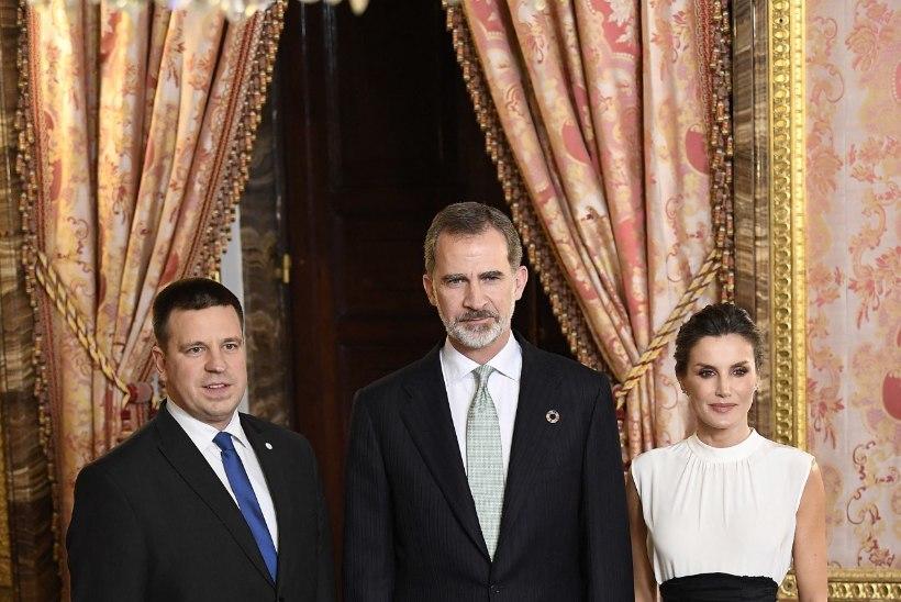 FOTO | Jüri Ratas kohtus Madridis Hispaania kuningapaariga