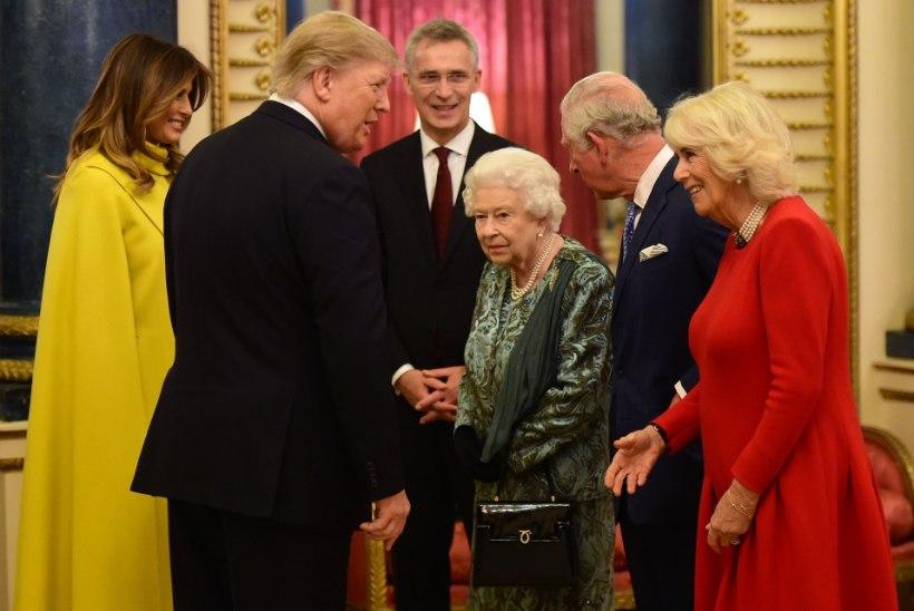 VIDEO | Elizabeth II tõreles tütrega, et too Trumpi ei teretanud