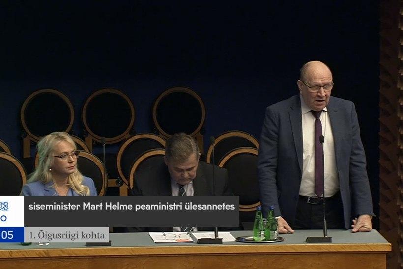VIDEO | Mart Helme: see on ametnikkonna mäss valitud poliitikute vastu