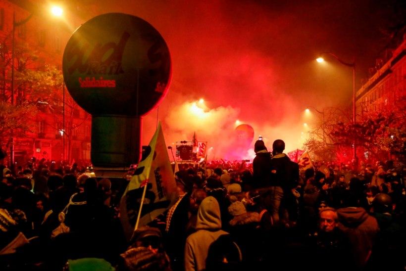 Prantsusmaal toimusid viimaste aastate rahvarohkeimad meeleavaldused