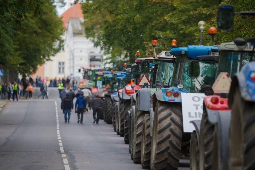 Meeleavaldus toob Toompeale vähemalt 101 traktorit