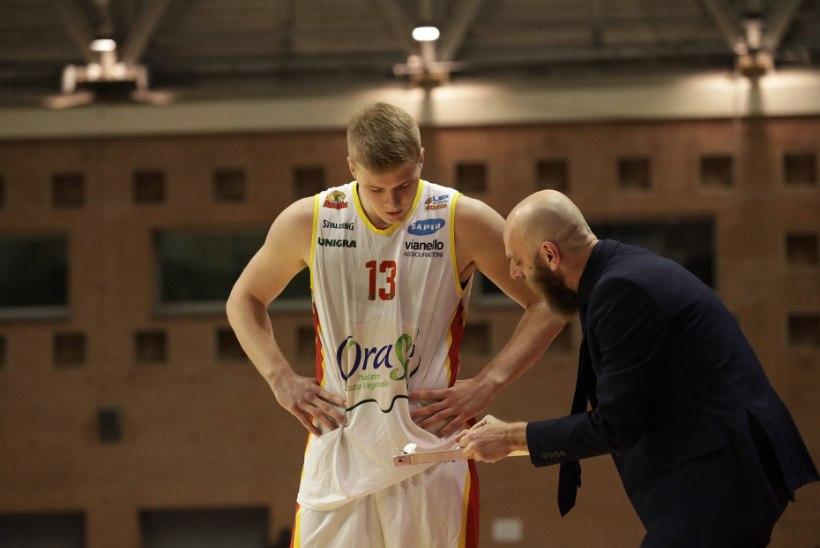 TUBLI POISS! Itaalias suurepärast hooaega tegev korvpallikoondislane valiti kuu parimaks noormängijaks