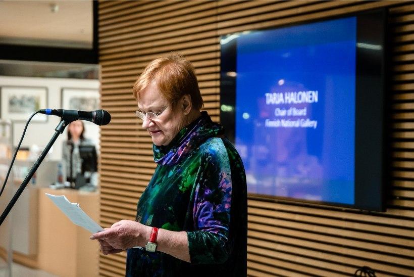 GALERII   Tarja Halonen: et naise hääl saaks kuuldavaks meeste maailmas, nõudis meie suguõdedelt palju jõudu ja huumorimeelt