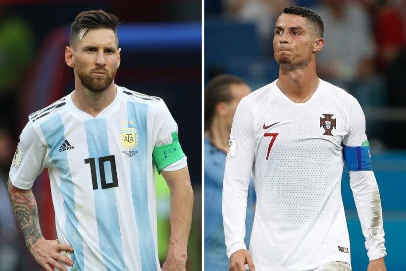 LEPITAV PILT: Ronaldo ja Messi suudlevad kirglikult