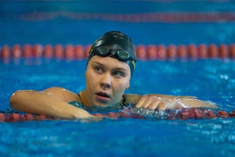 HEA TÖÖ! Eesti ujuja purustas tiitlivõistlusel taas ühe vana rekordi
