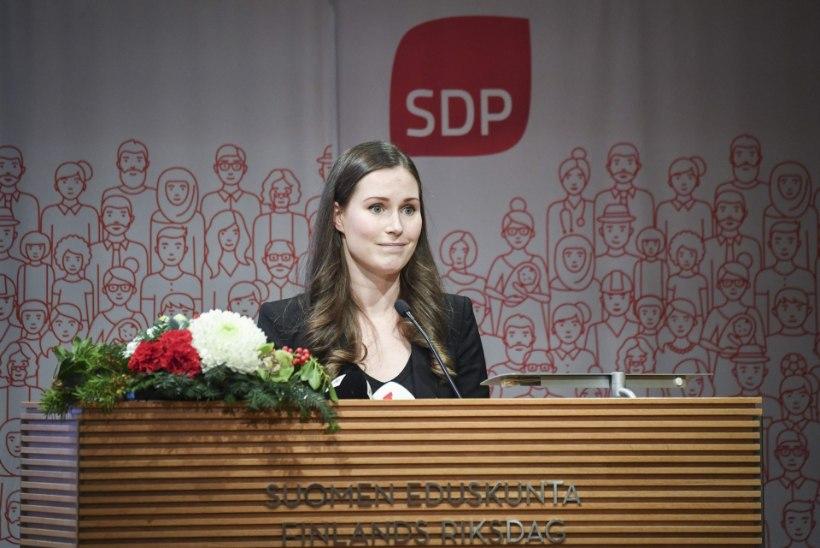 Noored naised võtsid Soomes võimu