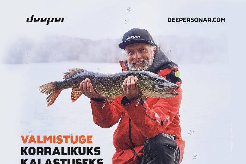 KAMPAANIA ON LÕPPENUD: Kalale! Võida eksklusiivne Deeper Chirp+ talvepakett!