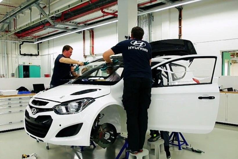 VIDEO | Vaata, kus Ott Tänaku ja teiste Hyundai meeste masinad paika timmitakse
