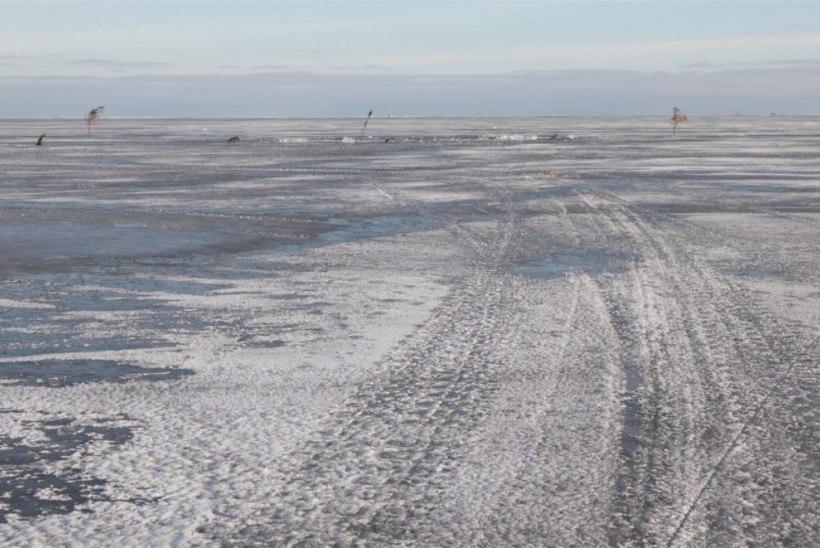 Lämmijärve kalurid eksisid udus Venemaale