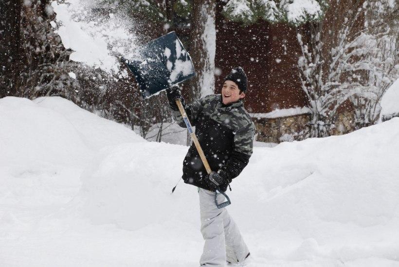 Kuidas lund koristades oma kehale mitte liiga teha?