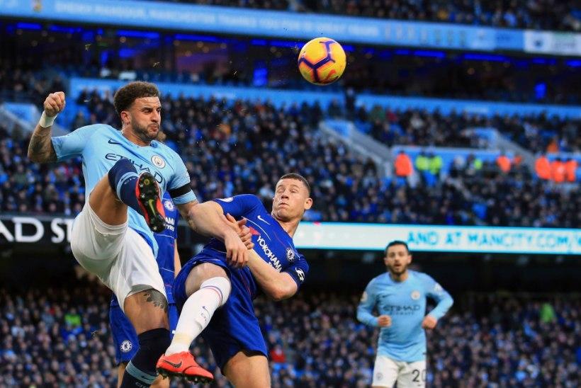 JULM! Manchester City peksis Chelsea vaeseomaks