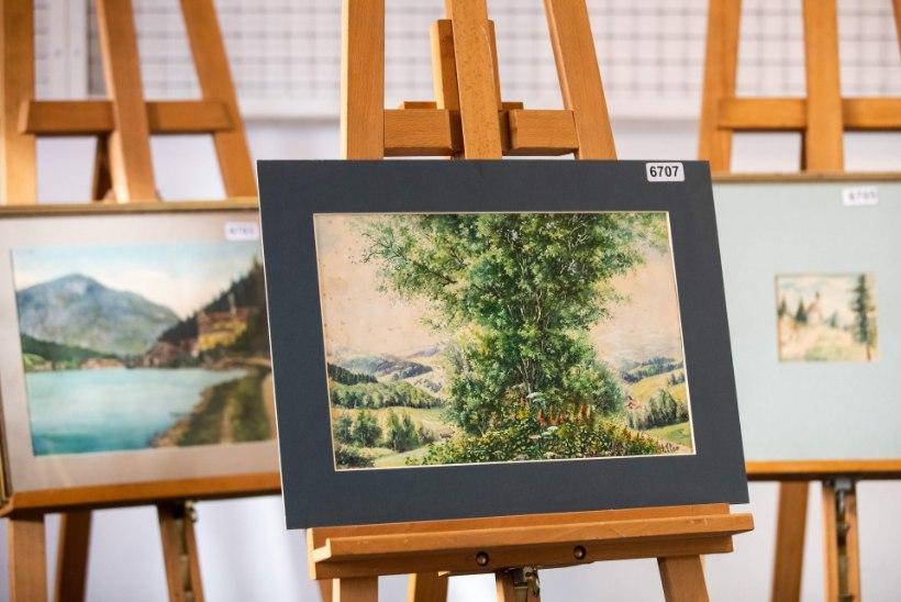 Картины Гитлера не смогли продать на аукционе в Нюрнберге