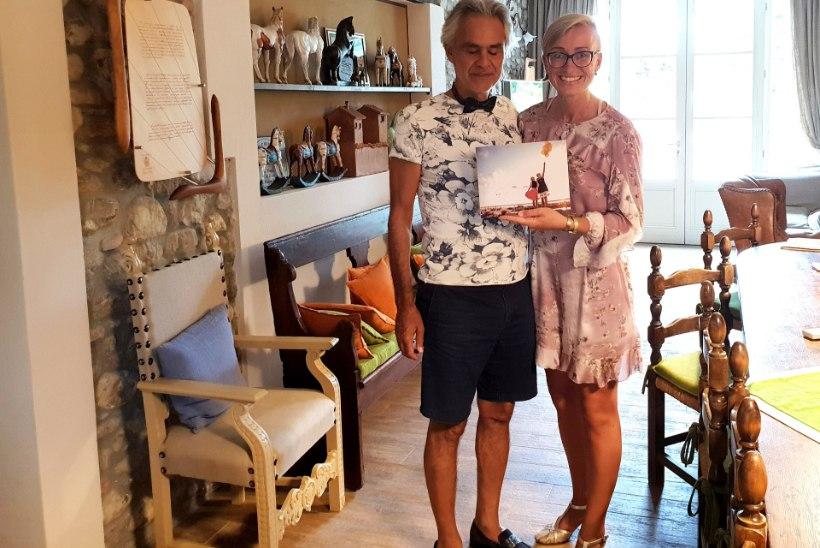 Iga fänni unistus! Andrea Bocelli kutsus eestlanna endale koju külla