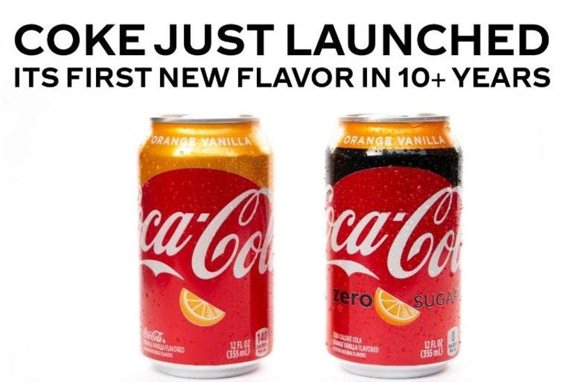 Впервые за 17 лет Coca-Cola анонсировала новый вкус