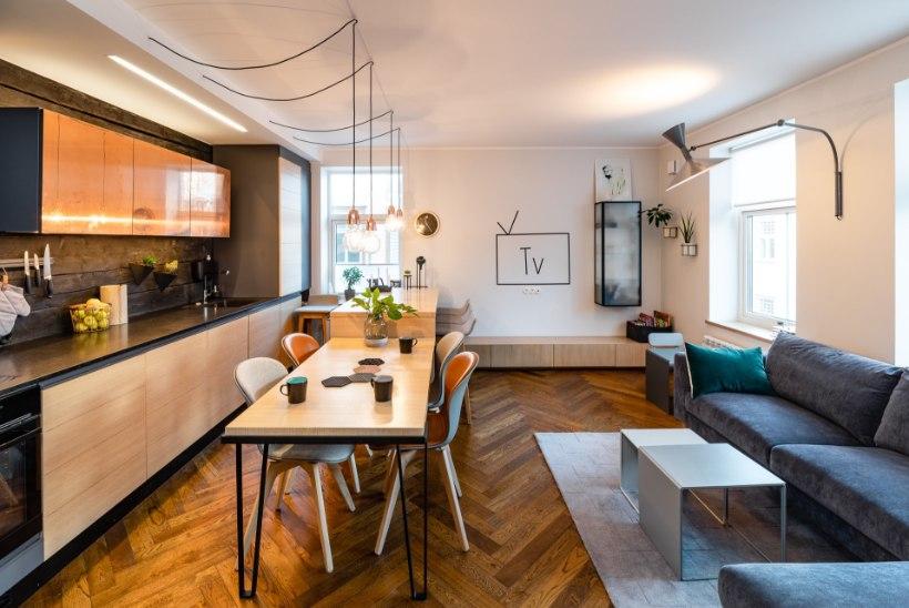 FOTOD | Eesti kauneima kodu tiitli sai Kadrioru kortermajja loodud panipaigarohke kodu