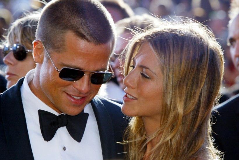 Aniston tähistas 50 aasta juubelit koos eksabikaasa Pittiga