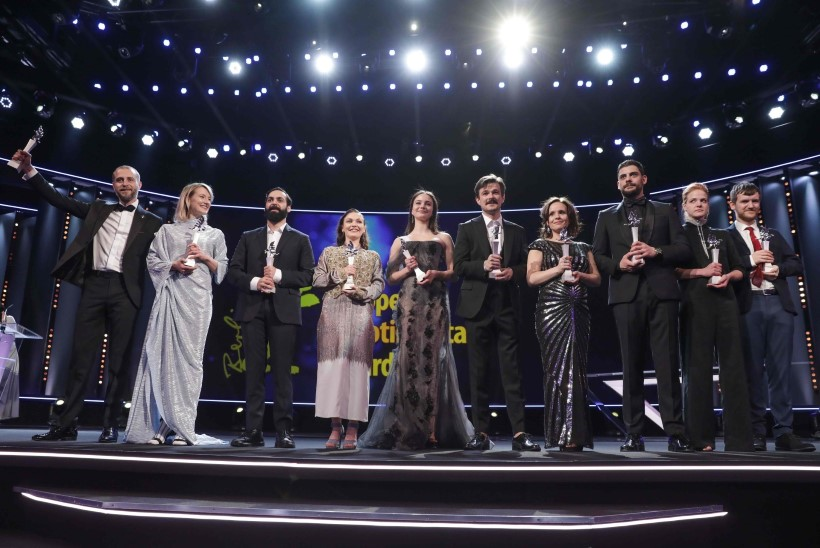FOTOD | Rea Lest säras Berliini filmifestivali punasel vaibal ja osales Euroopa tõusva filmitähe programmis