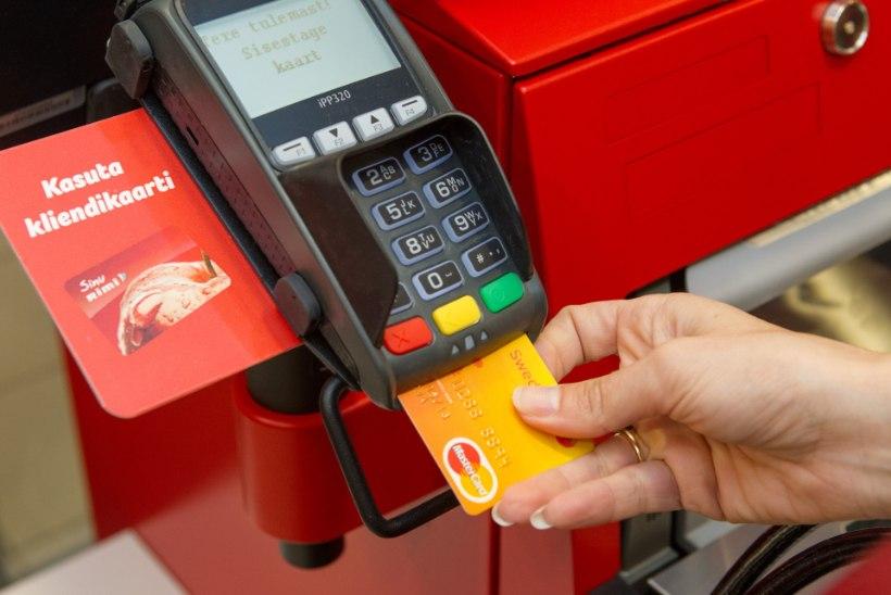 Sagenenud kaardimaksed paisutavad pankade kasumit