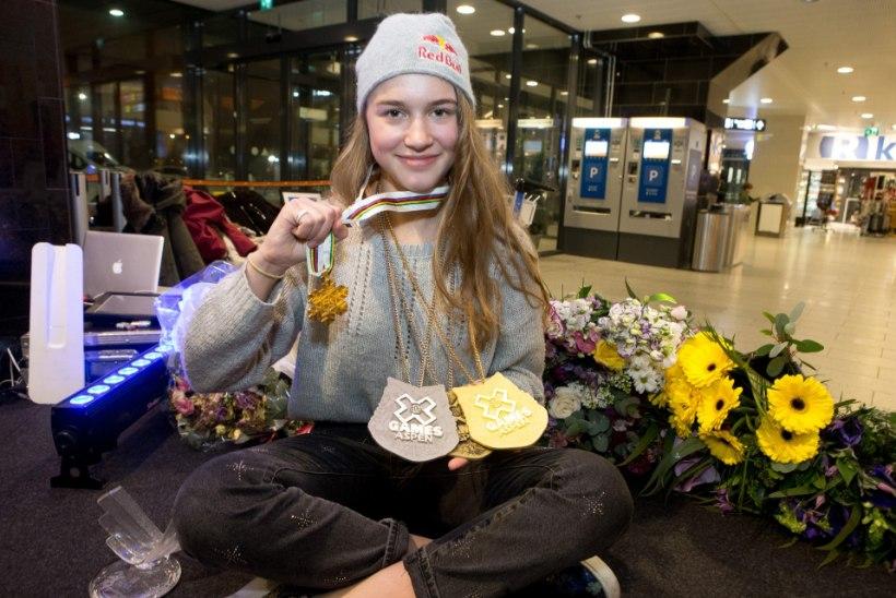 65 000 EUROT TULEKUL: maailmameister Kelly Sildaru leidis uue rahaka toetaja