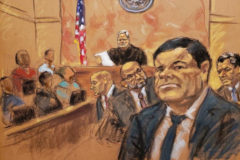 SMUGELDAMINE, VÄGISTAMINE, ELUSALT MATMINE: kohus mõistis kurikuulsa narkoparuni El Chapo süüdi
