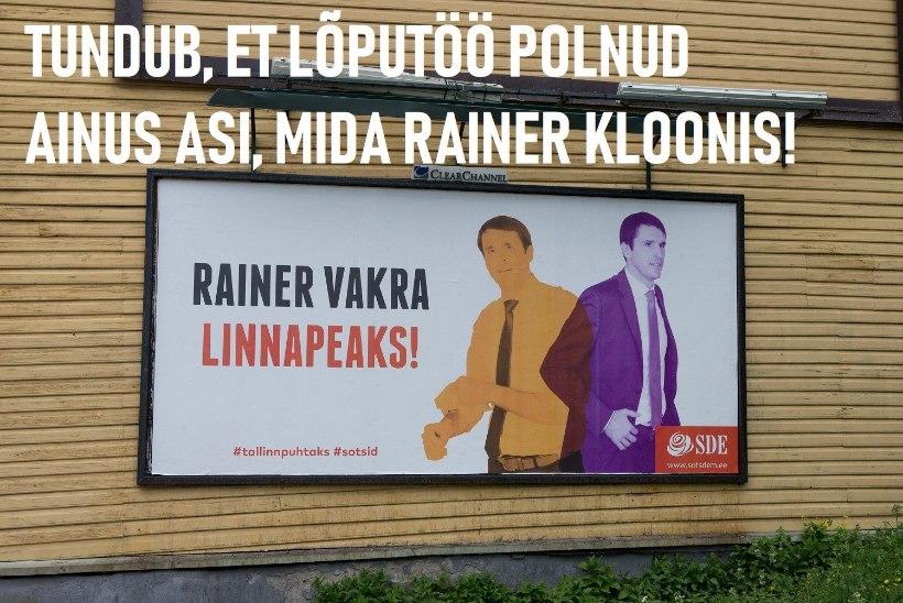 MEEMIPOMM! Internetikoomikud võtsid luubi alla Rainer Vakra ja tema nukra lõputöö