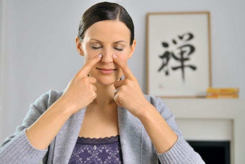 HIINA MEDITSIIN SOOVITAB: tee ise peamassaaži, mis leevendab nii nohu kui depressiooni!