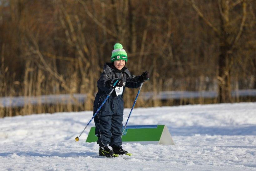 GALERII | Tartu maratoni lasteüritustel suusatas üle 1300 mudilase