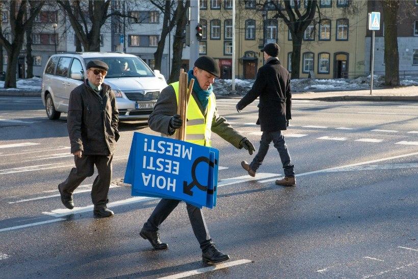 GALERII | Mehed marssisid oma õiguste nimel