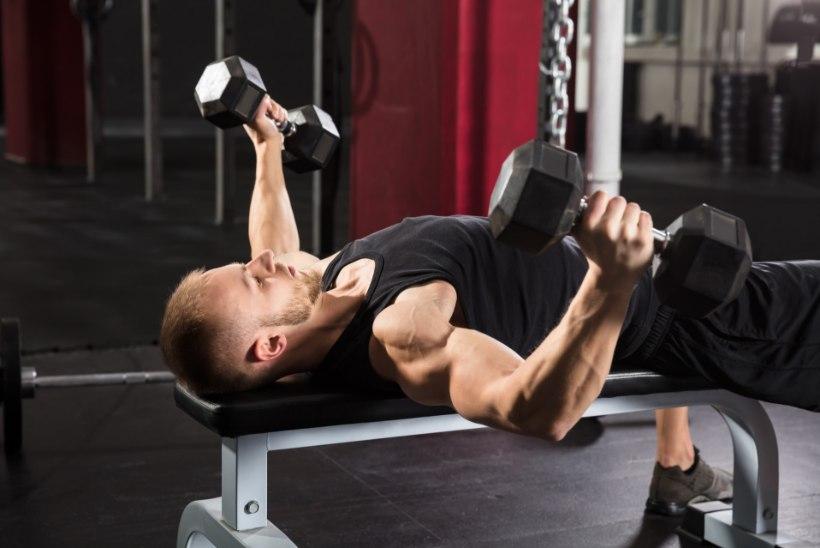 VUTT-VUTT JÕUSAALI: lihastreeningu viis head mõju su tervisele