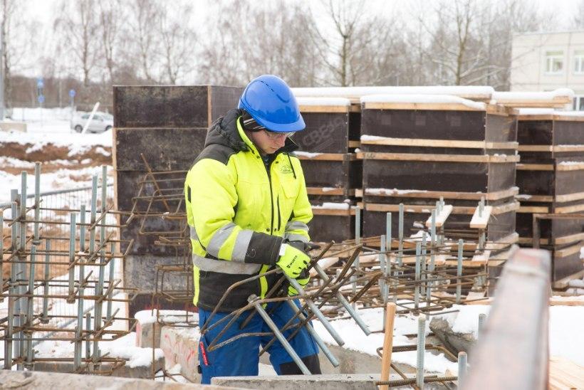 Eesti ehitusfirmad nopivad Lätist miljoneid