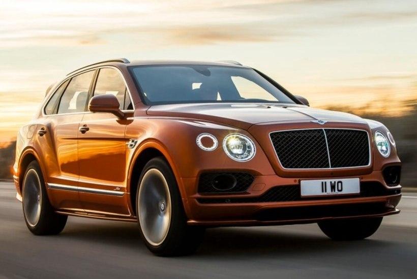 UUS LIIDER: Bentley Bentayga Speed tõukas Lamborghini Uruse kiireima maasturi kohalt