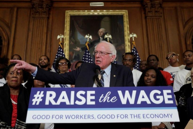 TEISELE KATSELE: Bernie Sanders kandideerib taas USA presidendiks