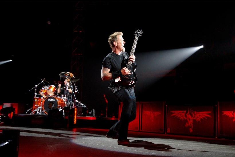Küte! Metallica kontserdile on müüdud juba üle 50 000 pileti