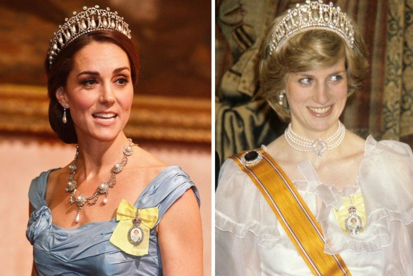 Kurb! Hertsoginna Catherine'il on üks asi, mida printsess Diana alati ihaldas