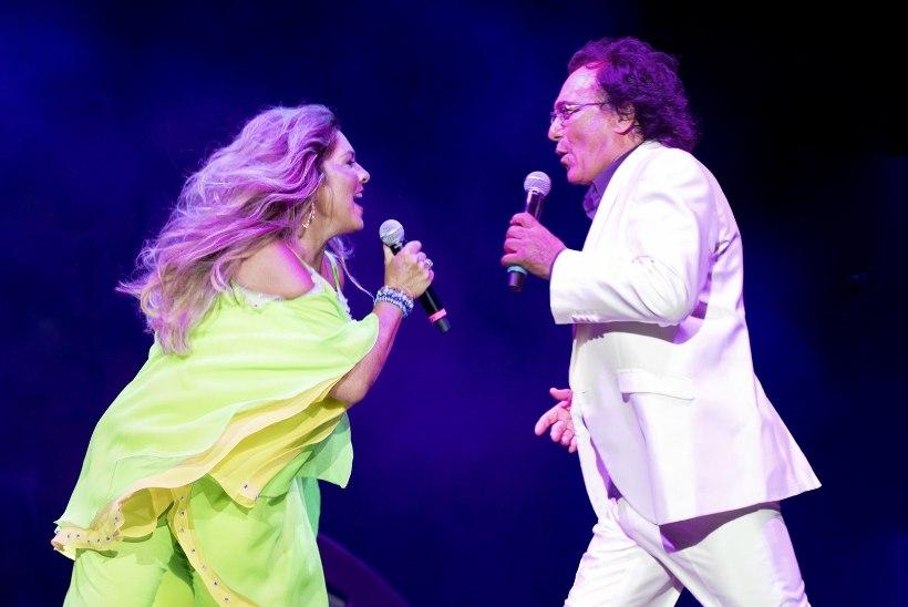 ARMASTAJAPAARI TAASKOHTUMINE: Albano Carrisi ja Romina Power annavad Tallinnas ühise kontserdi