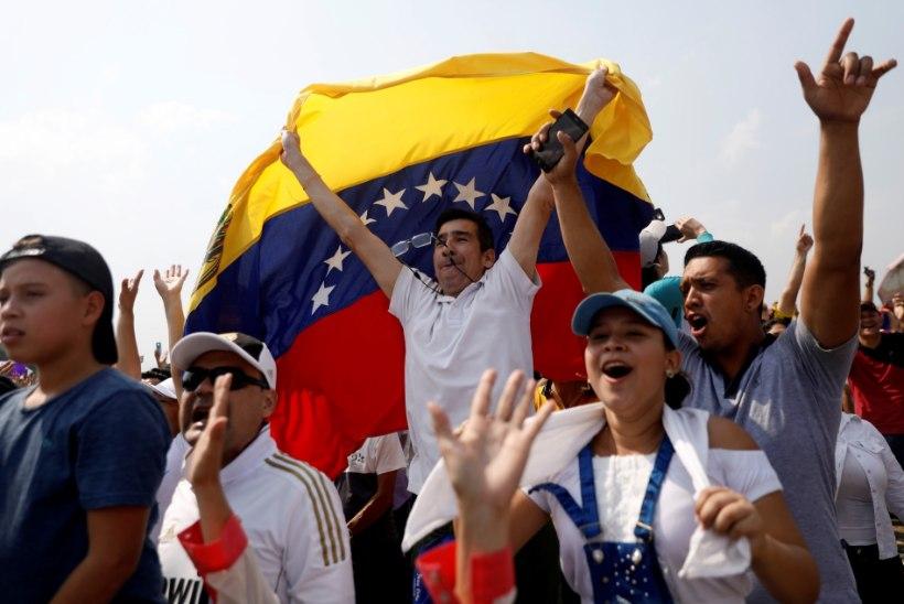VENEZUELA KRIIS: Maduro korraldas protestiks toiduabikontserdi vastu konkureeriva ürituse