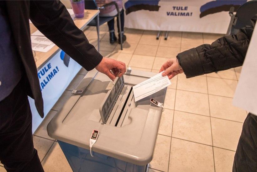 Kahe päevaga on valimistel hääle andnud üle 68 000 inimese