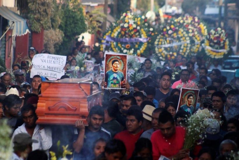 POLIITILINE MÕRV VÕI GÄNGID? Mehhiko keskkonnakaitsja salapärane surm