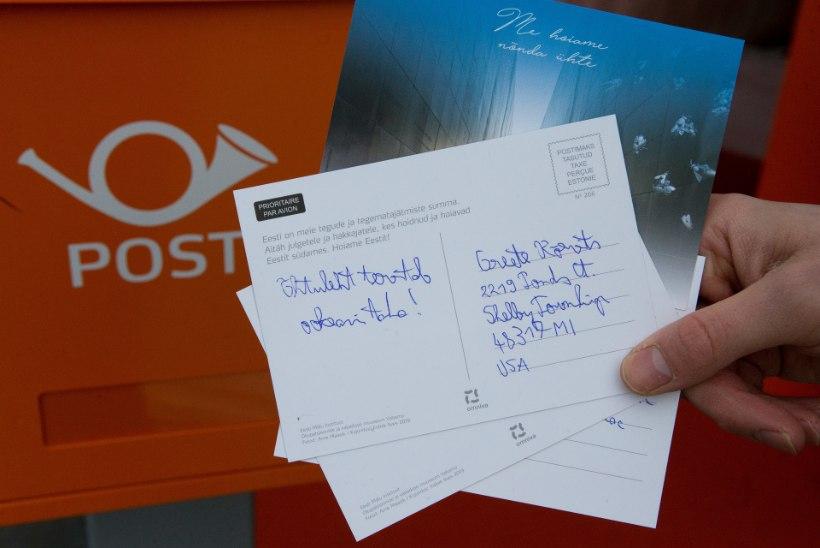 Kähehäälne president saatis tasuta postkaardi